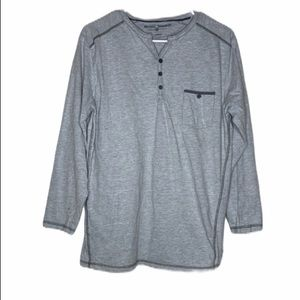 Michael Brandon Henley T-Shirt